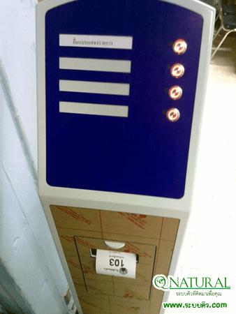 สำนักงานสรรพากรพื้นที่นนทบุรี 1 ระบบคิวอัตโนมัติ