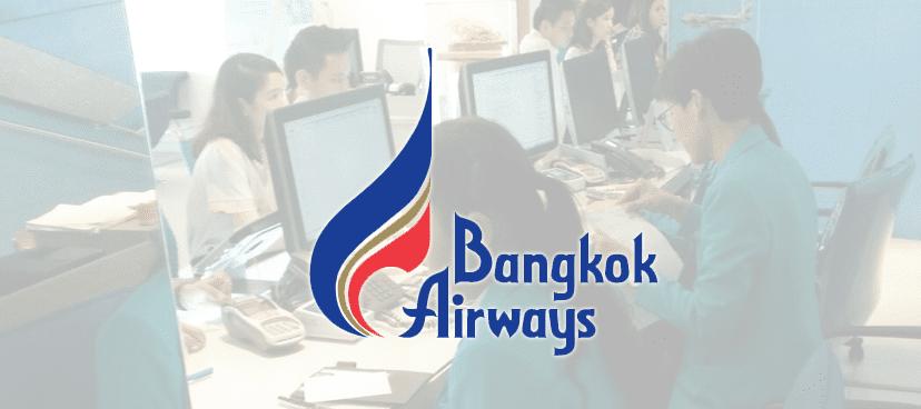 Bangkok Airways ( สำนักงานบางกอกแอร์เวย์ส ) ติดตั้ง ระบบคิวอัตโนมัติ