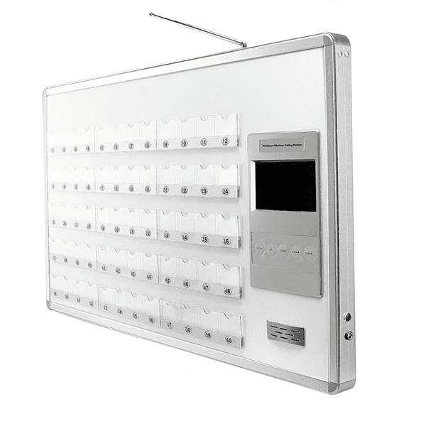 ตัวรับสัญญาณ ระบบปุ่มกดเรียกพยาบาลในโรงพยาบาล แบบบอร์ดรองรับ 60 เตียง