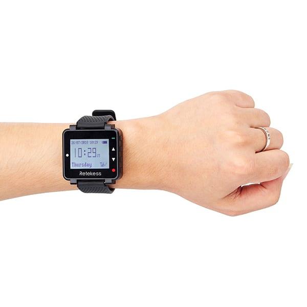 เครื่องรับสัญญาณ นาฬิกาข้อมือ LCD