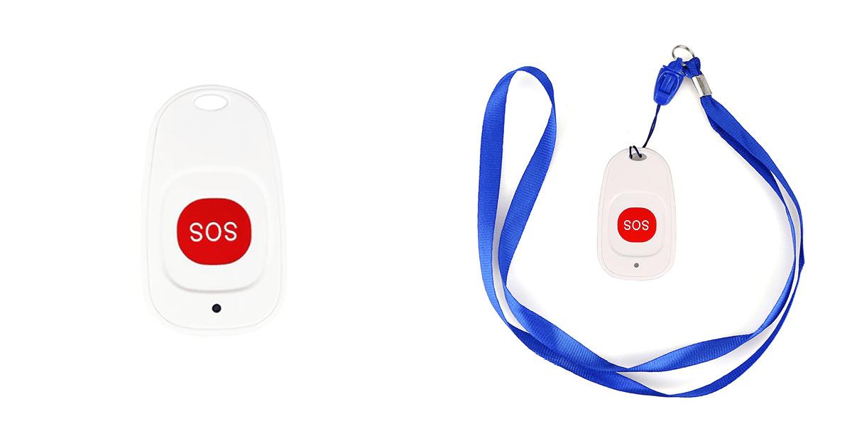 ตัวกด SOS ระบบเรียกพยาบาลฉุกเฉิน