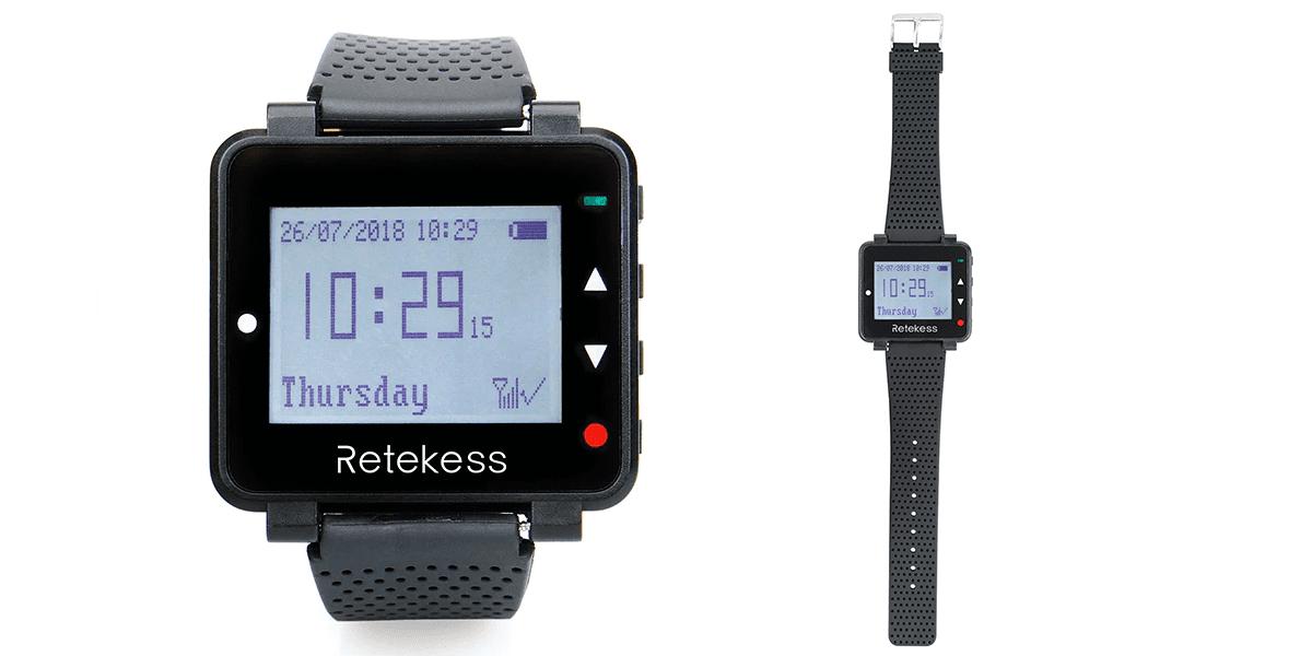 นาฬิการับสัญญาณ ระบบเรียกพนักงานไร้สาย